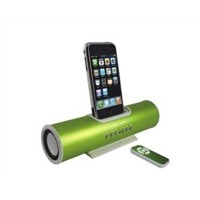 music angel docking station speaker for iphone 4 with remote control