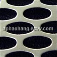 Oblong Hole Perforated Metal Mesh