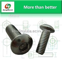 pan head hex socket cap Anti-Theft Screws