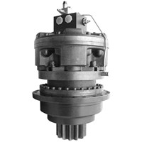 planetary gearbox slew drive with brake