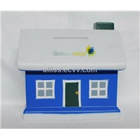 plastic coin box for money save