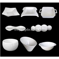 porcelain untensils, ceramic storage dish, tableware accessaries