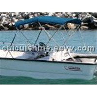 "sell Bimini Top Boat Cover 3 Bow 46""H x 67""-72"" W BLUE"