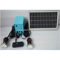 small solar home lighting system