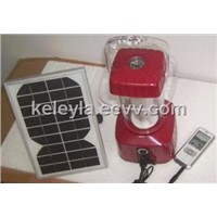 solar lamp with mobile charger