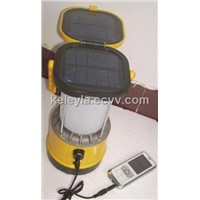 solar led camping lantern with charger