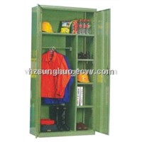 Steel Garages Cabinet with Shelving