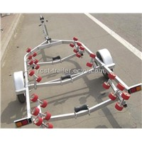 steel hot dipped galvanized boat trailer with rollers LH5500