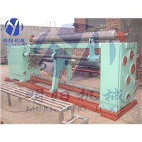 straight and reverse twisted hexagonal wire mesh machine