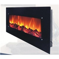wall- mounted electric fireplace