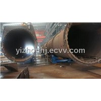 welding rotator turning roll roller bed