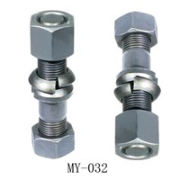 wheel bolt with nut for BPW