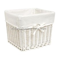 white wicker laundry baskets