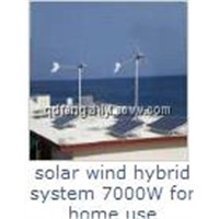 wind and solar hybrid system
