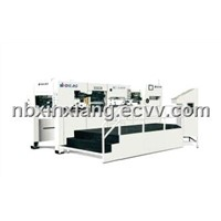 automatic die-cutting and foil stamping machine