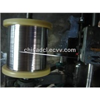 Galvanized Scourer Wire/flat wire/cleaningball wire