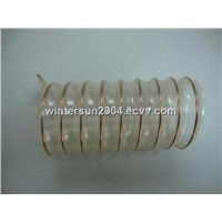steel wire enhanced PU hose