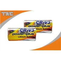 3.0V CRV3 3000mAh Li/MnO2 Primary Lithium Battery