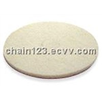 801 White Polisher Pad- Chain Ya