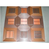 PVC Foam Wood Plastic Flooring