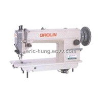 Single Needle Heavy Dury Top and Bottom Feed Lockstitch Sewing Machine (GL0302)