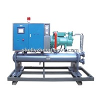 screw style chiller