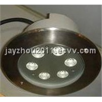 6W RGB LED Inground Light