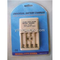 9v Aa/Aaa Ni-Cd Ni-Mh Battery Charger-Ytt2266a