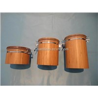 Airtight Bamboo Container