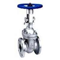 Cast steel ANSI flanged gate valve