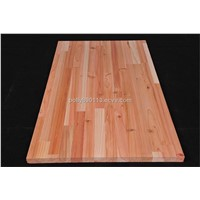 Cedar finger jointed board
