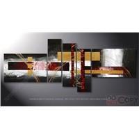 Decoration oil painting (group oil painting )5pcs as a set