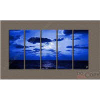Decoration Oil Painting - 5pcs as a Set