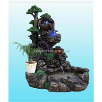 Fishbowl Resin Fountain with Mist Maker