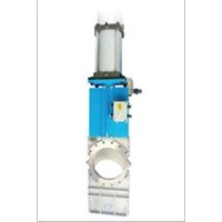 Flow Guidance Knife Valve