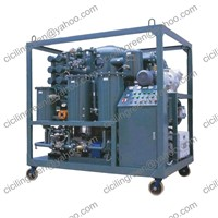 LA transformer oil purifier, transformeroil filter
