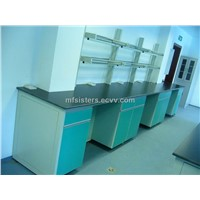 Laboratory table and sink
