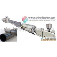 PP and PE drain plate production line