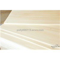 Paulownia edge glued panel