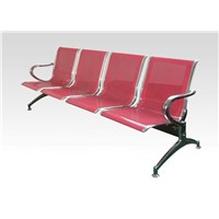 Plastic-Sprayed Treat-Waiting Chair with Punched Steel Plate