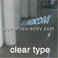 Self Adhesive Rear Projection Screen Film for Fashion Shop Display