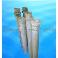 Thermal Shock Resistance Silicon Nitride Riser Tube for Aluminum Low Pressure Casting