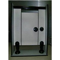Toilet Partition Made of Solid Phenolic Core Panel