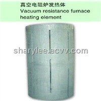 Vacuum resistance furnace heating element