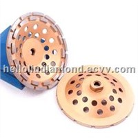Double Row Concrete Grinding Wheel