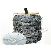 galvanized barbed iron wire(manufacturer & exporter)