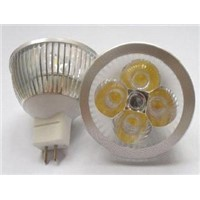 led bulb/led spotlight/High Powered Led SpotLight 4X1W MR16
