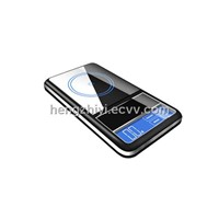 ouch screen pocket scale with blue back light, counting function