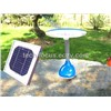 Blue and White Solar Table Lamp