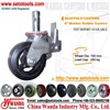 Scaffold Casters - 6 Inch Stem Rubber Scaffold Casters